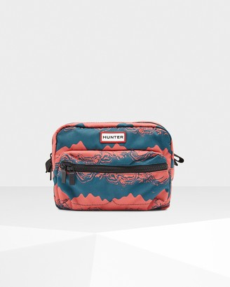 Hunter Printed Nylon Crossbody Fanny Pack