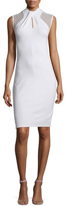 French Connection Tania Sleeveless Sheath Dress, White $103 thestylecure.com