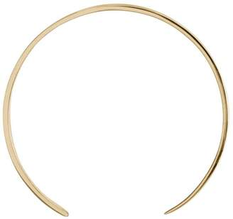 Ekria Single Extra Large Curve Earrings Shiny Yellow Gold