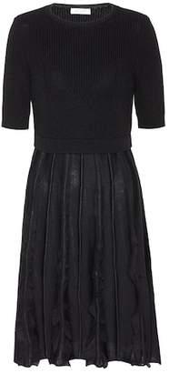 Valentino Knitted wool dress