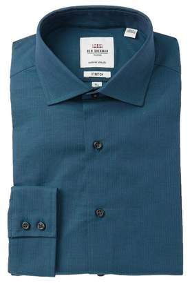 Ben Sherman Solid Tailored Slim Fit Dress Shirt