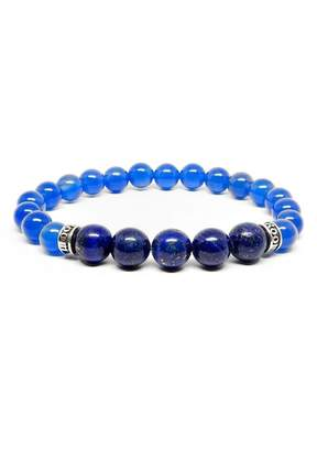 Lapis ROOM101 Agate Stretch Bracelet