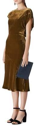 Whistles Mina Velvet Dress