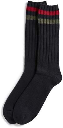 Polo Ralph Lauren Stripe Cuff Boot Socks