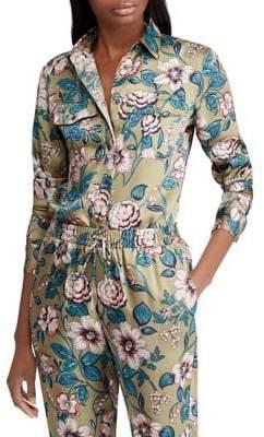 Lauren Ralph Lauren Floral-Print Button-Down Shirt