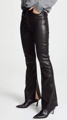 Rag & Bone The Bella Leather Pants
