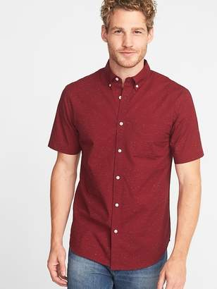 Old Navy Slim-Fit Built-In Flex Everyday Textured Shirt for Men