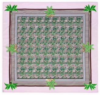 Henri Bendel Palm Tree Scarf