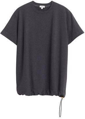 French Terry Drawstring Tee