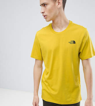 The North Face Exclusive To Asos Simple Dome T-Shirt In Yellow