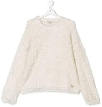 Twin-Set Kids TEEN brushed sweater