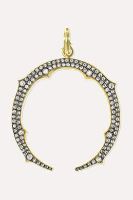 Sylva & Cie 18-karat Gold Diamond Pendant - one size