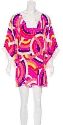 Alice & Trixie Silk Geometric Dress