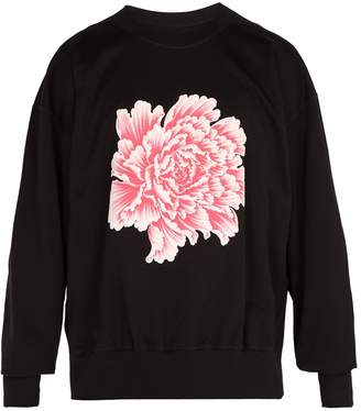 Y-3 X James Harden floral-print cotton sweatshirt