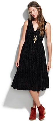Dusklight velvet dress
