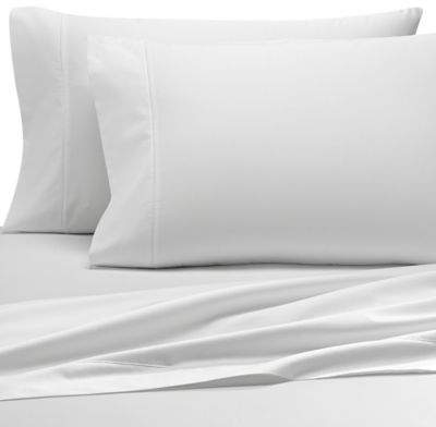 Solid 500-Thread-Count PimaCott® Dual California King Sheet Set in White
