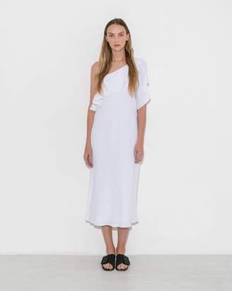 White One Shoulder Dress - ShopStyle UK