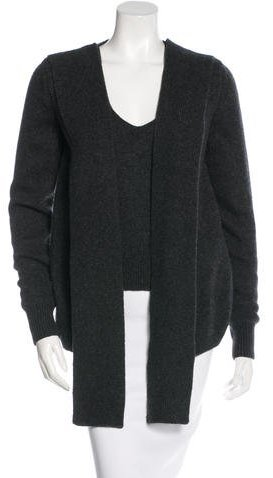 Yves Saint Laurent Virgin Wool & Cashmere-Blend Layered Sweater