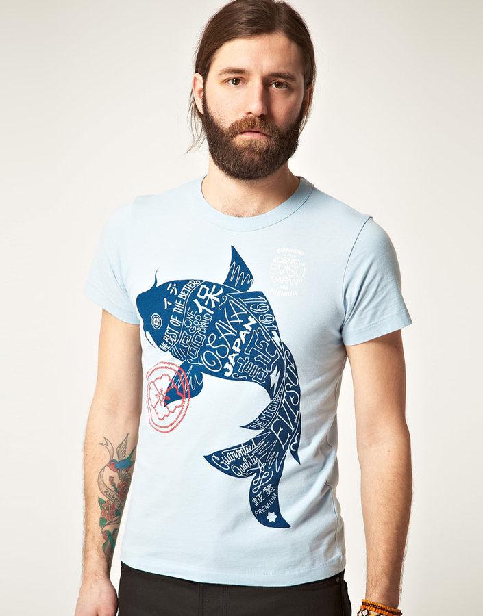 Evisu Fish T-Shirt