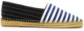 Marc Jacobs Two-Tone Striped Grosgain Espadrilles