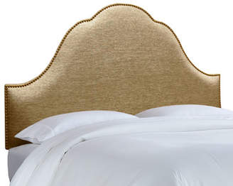 House of Hampton Brighton Nail Button Upholstered Panel Headboard