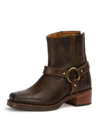 Frye Harness Waxed Suede Boot, Chocolate