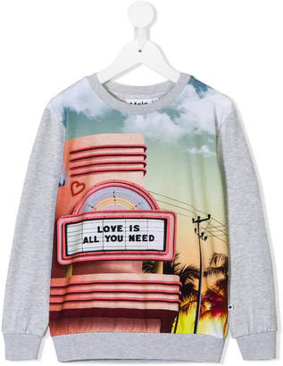 Molo love is all you need sweatshirt