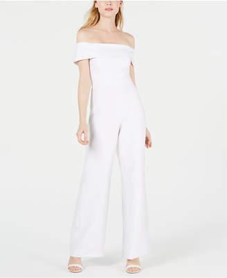 dff0d726478 Laundry by Shelli Segal Off-The-Shoulder Jumpsuit