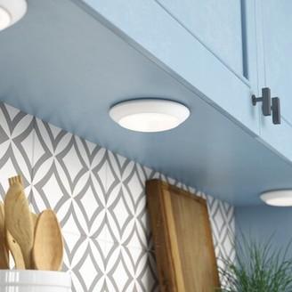 Ebern Designs Devereaux Driverless Surface Downlight 1-Light LED Flush Mount Ebern Designs