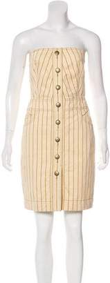 Marc by Marc Jacobs Strapless Mini Dress