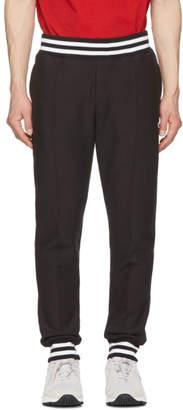 Champion Reverse Weave Black Striped Rib Lounge Pants