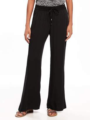 Old Navy Mid-Rise Soft Wide-Leg Pants for Women