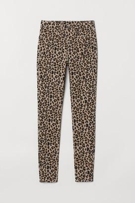 H&M Super Skinny High Jeans - Beige