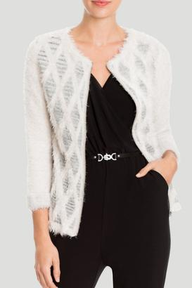 Nic + Zoe Reversible Long Sleeve Cardigan $188 thestylecure.com