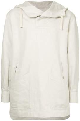 Cerruti long-line hooded jacket