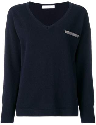 Fabiana Filippi chest pocket jumper