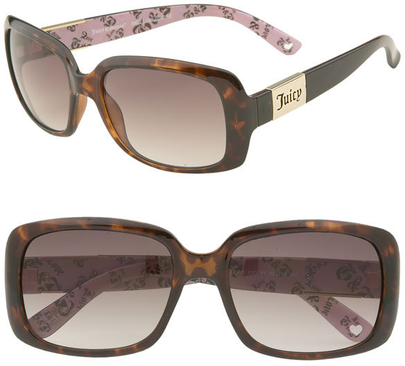 Shades of Couture by Juicy Couture 'Miller' Square Sunglasses