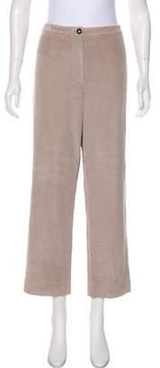 Hermès Corduroy High-Rise Pants