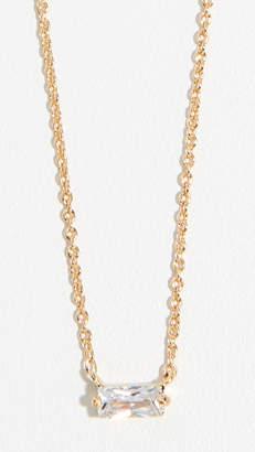 Gorjana Amara Solitaire Necklace