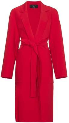 Rochas Tie Waist Structured Coat