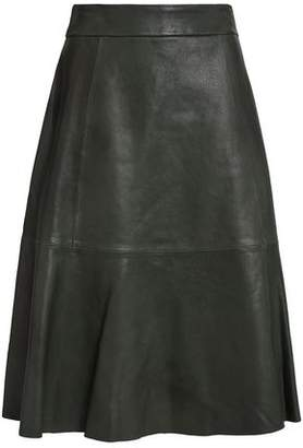 Kate Spade Flared Leather Skirt