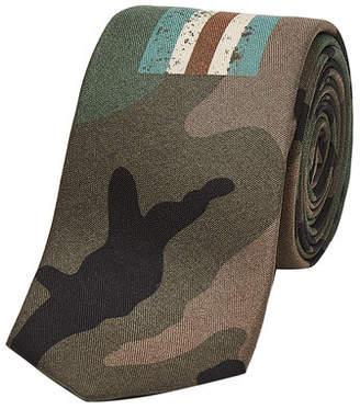 Valentino Printed Silk Tie