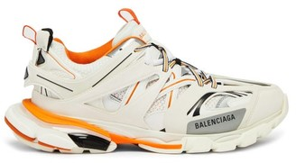 Balenciaga Track Low Top Trainers - Mens - Orange White