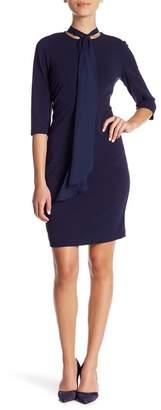 Marina Short Tie Front Dress (Petite)