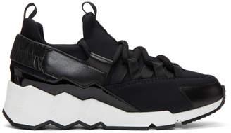 Pierre Hardy Black Trek Comet Sneakers