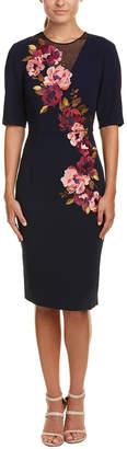 Trina Turk Knightly Sheath Dress
