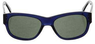 Salvatore Ferragamo Tinted Round Sunglasses