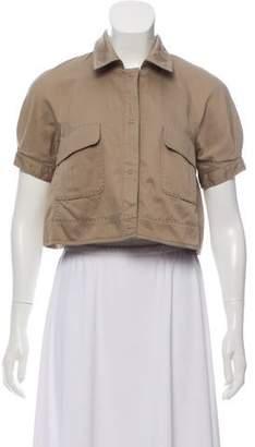 Philosophy di Alberta Ferretti Cropped Short Sleeve Jacket