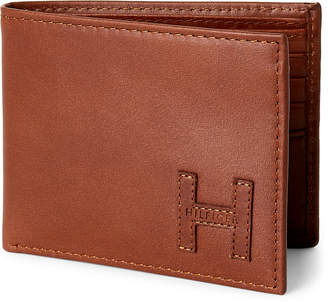 Tommy Hilfiger Tan Preston Passcase Wallet