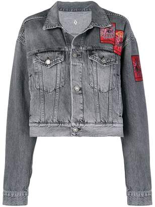 Marcelo Burlon County of Milan patched denim jacket